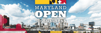 Maryland is Open for Business